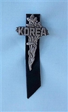POW/MIA Cross Korea w/Ribbon