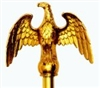 Metal Eagle Pole Topper