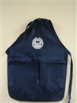 AMVET Apron w/ Pockets Navy Blue