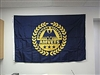 3' x 5' AMVETS Post Flag