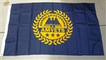 4' x 6' AMVETS Post Flag
