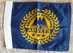 "AMVET 10"" X 14"" Car/Bike Flag"