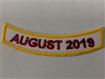 National Convention Year Patch
