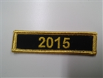 Rider Quality Chapter Year Patch 2015