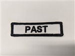 "Past Patch 1 X 3"" Dept."