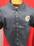 Dress Shirt Short Sleeve Navy