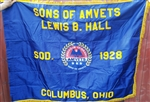 Sons of AMVETS Applique Flag