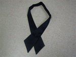 Ladies Necktie - Navy Blue
