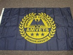 3' x 5' Junior AMVETS Flag