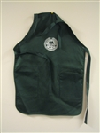 Auxiliary Apron Green w/ Pockets and Printed Logo
