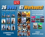 Gilads as seen on tv collection 67 workouts!