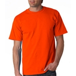 Gildan Safety Orange T-Shirt 50/50 Cotton/Polyester