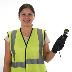 Sleeveless Reflective Safety Vest Lime