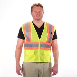 Surveyor Safety Vest Lime