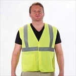 Class 2 Lime Safety Vest W/Velcro Closure