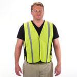 Lightweight Reflective Safety Vest Lime