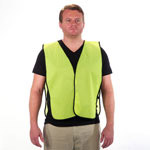 Lightweight Safety Vest Lime