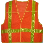 Chevron - 5 Point Breakaway Reflective Safety Vest