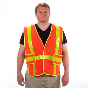 Chevron Reflective Safety Vest