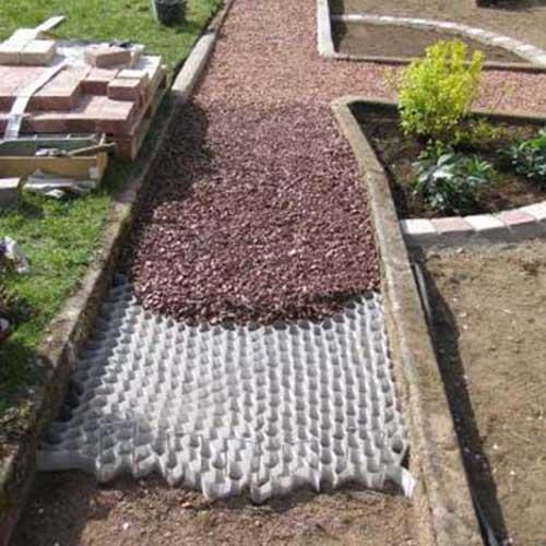 Landscape Fabric Under Deck : Dupont groundgrid ground stabilization  small grid