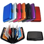 Aluminum Wallets Protect Your Credit Cards