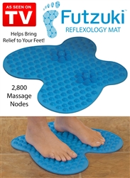 futzuki reflexology mat as seen on tv