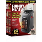 handy heater personal plug in heater as seen on tv
