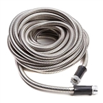 real steel metal garden hose as seen on tv
