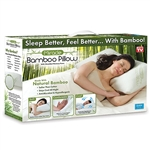 Miracle Bamboo Pillow - As Seen on TV