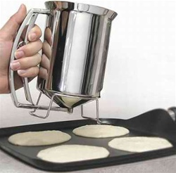 Makes making pancake quick and easy
