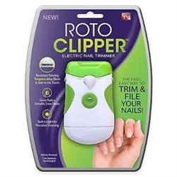 roto clipper electronic nail trimmer as seen on tv