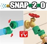 Snap 2.0 Garden Hose Connector