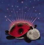 Twilight Classic Ladybug Plush Night Light