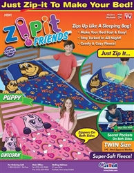 Zipit Friends Sleep Sack Zippy Sack As Seen on TV