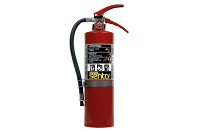 ANSUL SENTRY DRY CHEMICAL FIRE EXTINGUISHER - 5 LB. WITH VEHICLE BRACKET