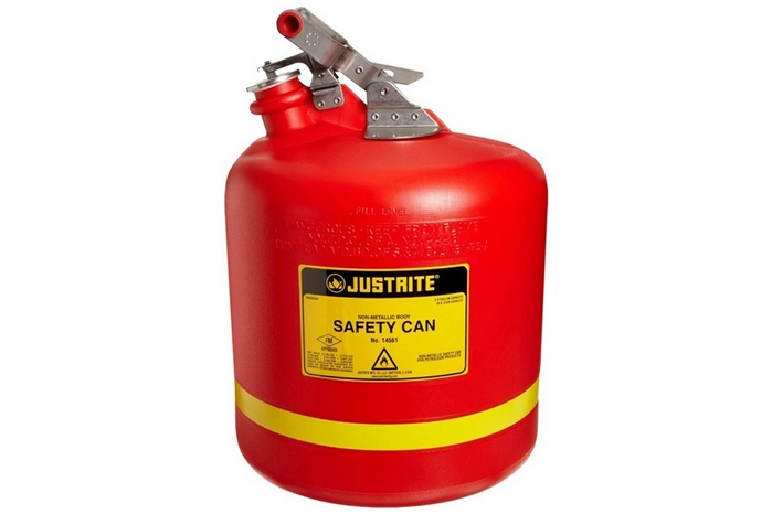 JUSTRITE TYPE 1 NONMETALLIC SAFETY CANS