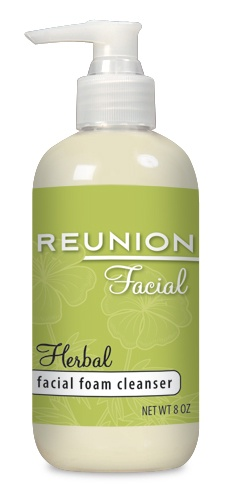 Daily usage Herbal Facial Cleanser to remove make up, cleanse and refresh your face and  hands.