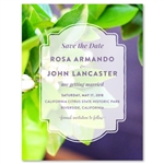 Lemon Tree Wedding Invitations | Citrus Blossoms (100% recycled paper)
