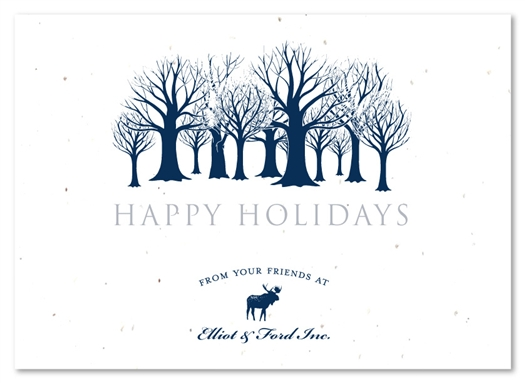 Corporate Greeting Cards | Frozen Meadow