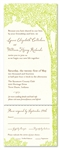 Tree Wedding Invitations ~ La Foret - Enchanting Forest
