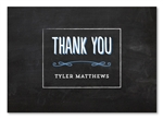 Chalkboard Thank you cards | Modern Chalkboard