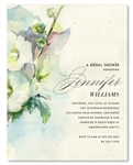 Plantable Bridal Shower Invitations ~ Gorgeous Blooms (watercolor)