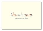 Romantique Thank you cards by ForeverFiances Weddings