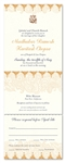 Indian Wedding Invitations ~ Shantih (100% recycled paper)