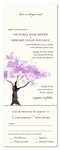 Seal and send wedding invitations ~ Spring Blooms Tree