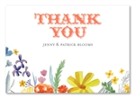 Wildflowers Summer Thank you cards | Summer Stories