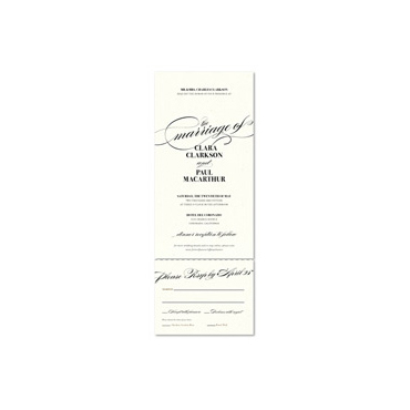 Send n Sealed Invitations ~ Tiffany Elegance (100% recycled paper)