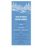 NY Wedding Programs | Winter In Upstate New York