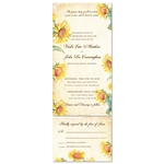 Vintage Sunflower Wedding Invitations | Country Sunflower