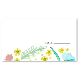 Wildflowers Wedding Place Cards | Floral Grace